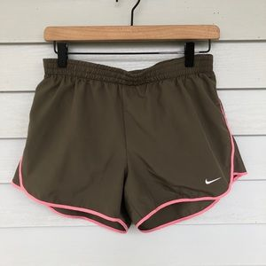 Nike dri-fit running lined shorts size M